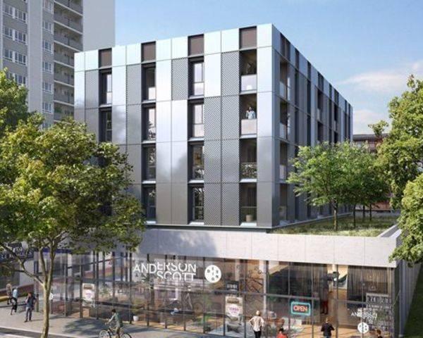 4 pièces avec balcon au centre ville - Photo programme