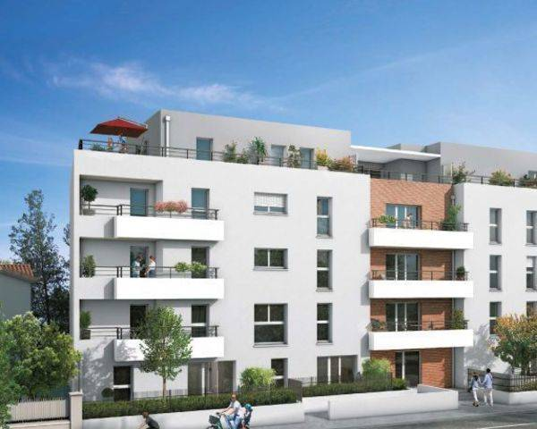 Minimes, petite résidence un grand T3 belle terrasse pour juin 21 - Inside-toulouse-pers