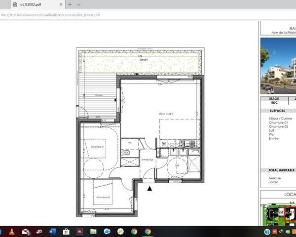Maison neuve individuelle de 64 m2 à Bordeaux Lormont - Capture d écran  92