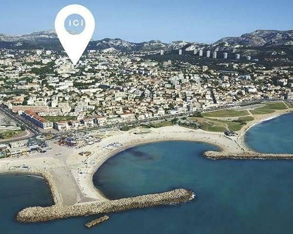 Marseille 13008 Bonneveine en TVA 5.5 % - Plage borely