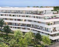 Type 1/2 terrasse - piscine-parking - Borély13008
