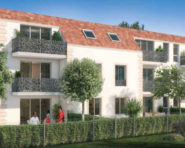 Appartement 3 pièces 55.85m² 91 Vert-le-petit - Green-val-pers photo principale