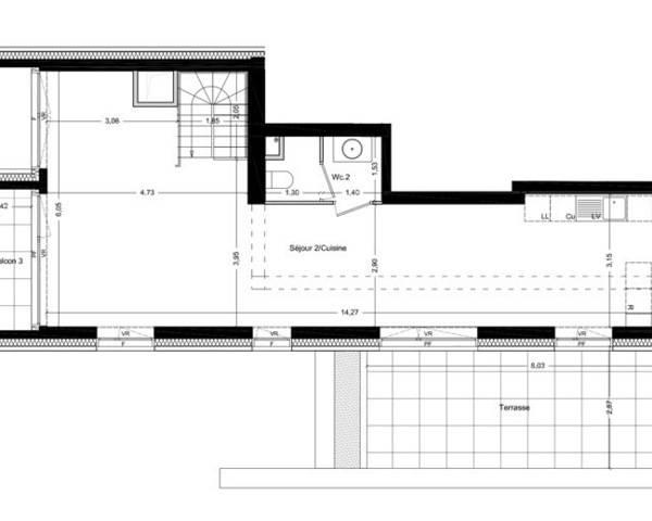 A Huningue, Appartement haut de gamme au 15ème et dernier étage  - Image 08-07-2020 à 16.43