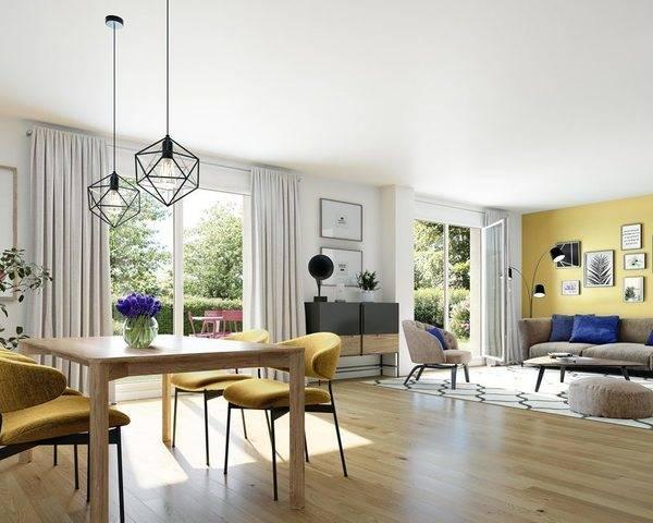 Appartement 3 pièces 60m² 91 Fontenay-le-vicomte - Nature et sens pers photo principale
