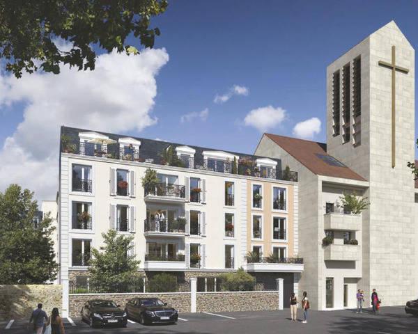 Appartement 2 pièces 44m² 77500 Chelles - Villa-du-parc-2 photos site 20200807111739 7925