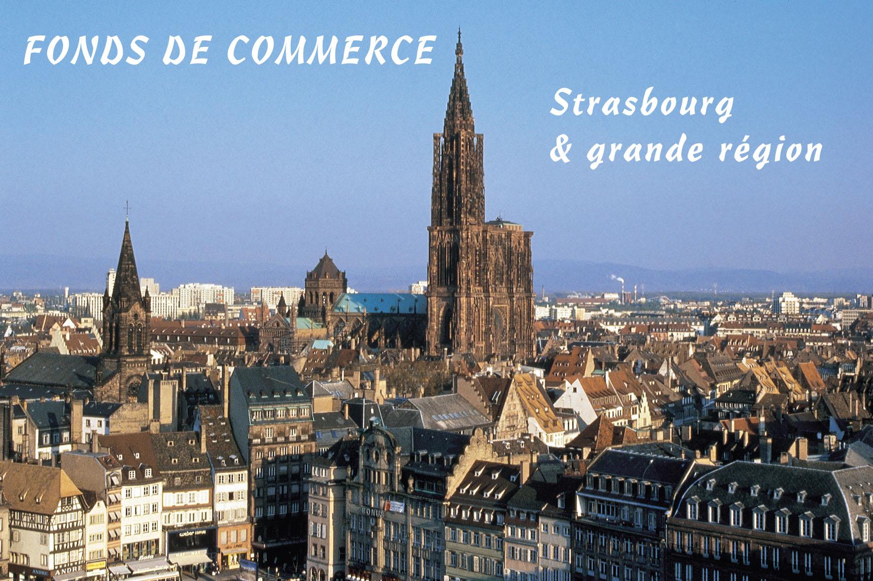 Retrouvez toutes les annonces de vente de fonds de commerce sur STRASBOURG et sa grande région